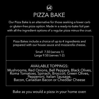 Pizza Bake - LC Market, Necedah