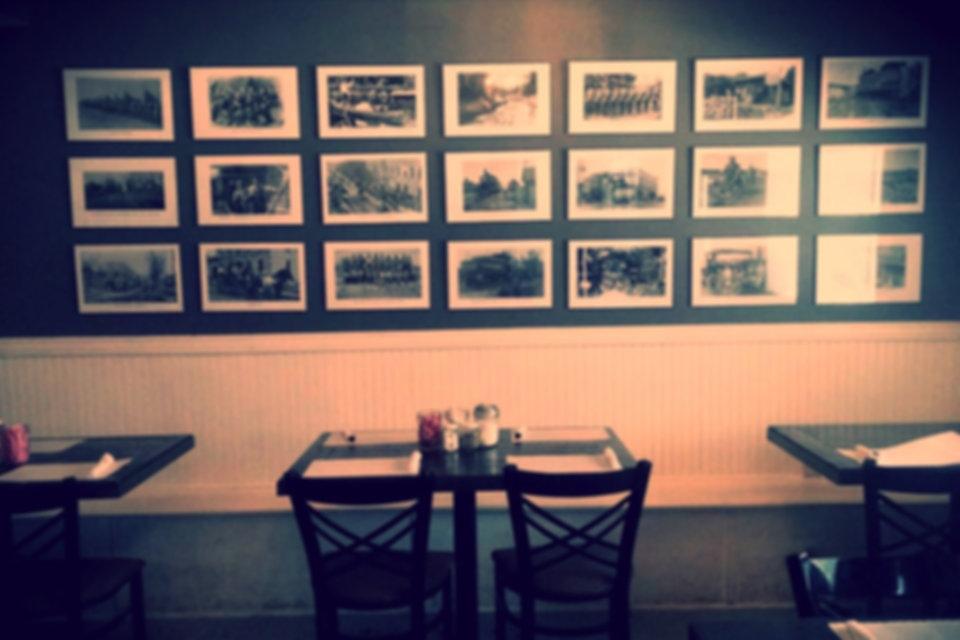 Dining Area of Little Crane Cafe Necedah