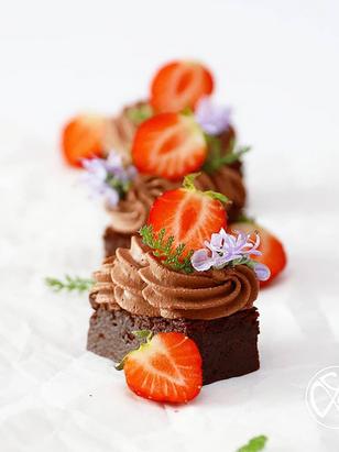 Schokoladen Petit Four