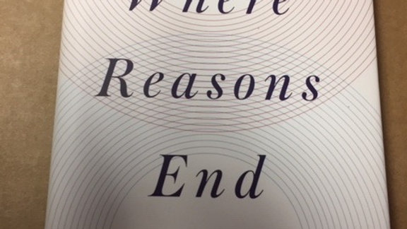 WHERE REASONS END -- YIYUN LI