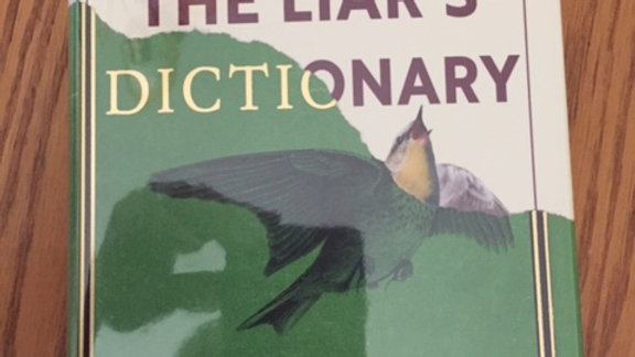 THE LIAR'S DICTIONARY -Eley Williams