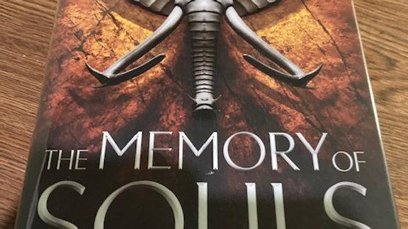 THE MEMORY OF SOULS - Jenn Lyons  **UK**