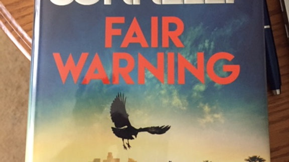 FAIR WARNING -- MICHAEL CONNELLY UK