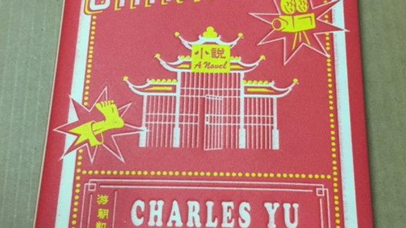 Interior Chinatown --  Charles Yu