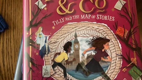 PAGES & CO.: TILLY AND THE MAP OF STORIES - A James