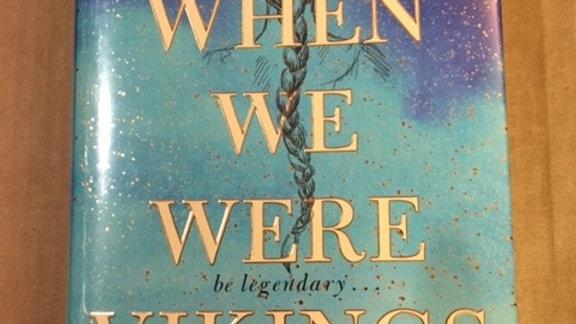 WHEN WE WERE  VIKINGS -- ANDREW  DAVID MACDONALD