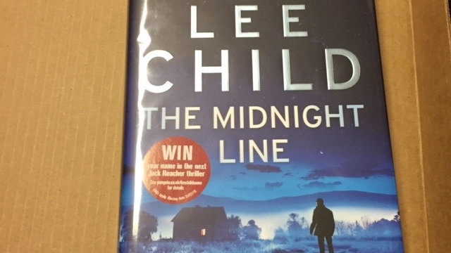 The Midnight Line -- Lee Child UK