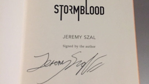 Szal, Jeremy -- STORMBLOOD  UK
