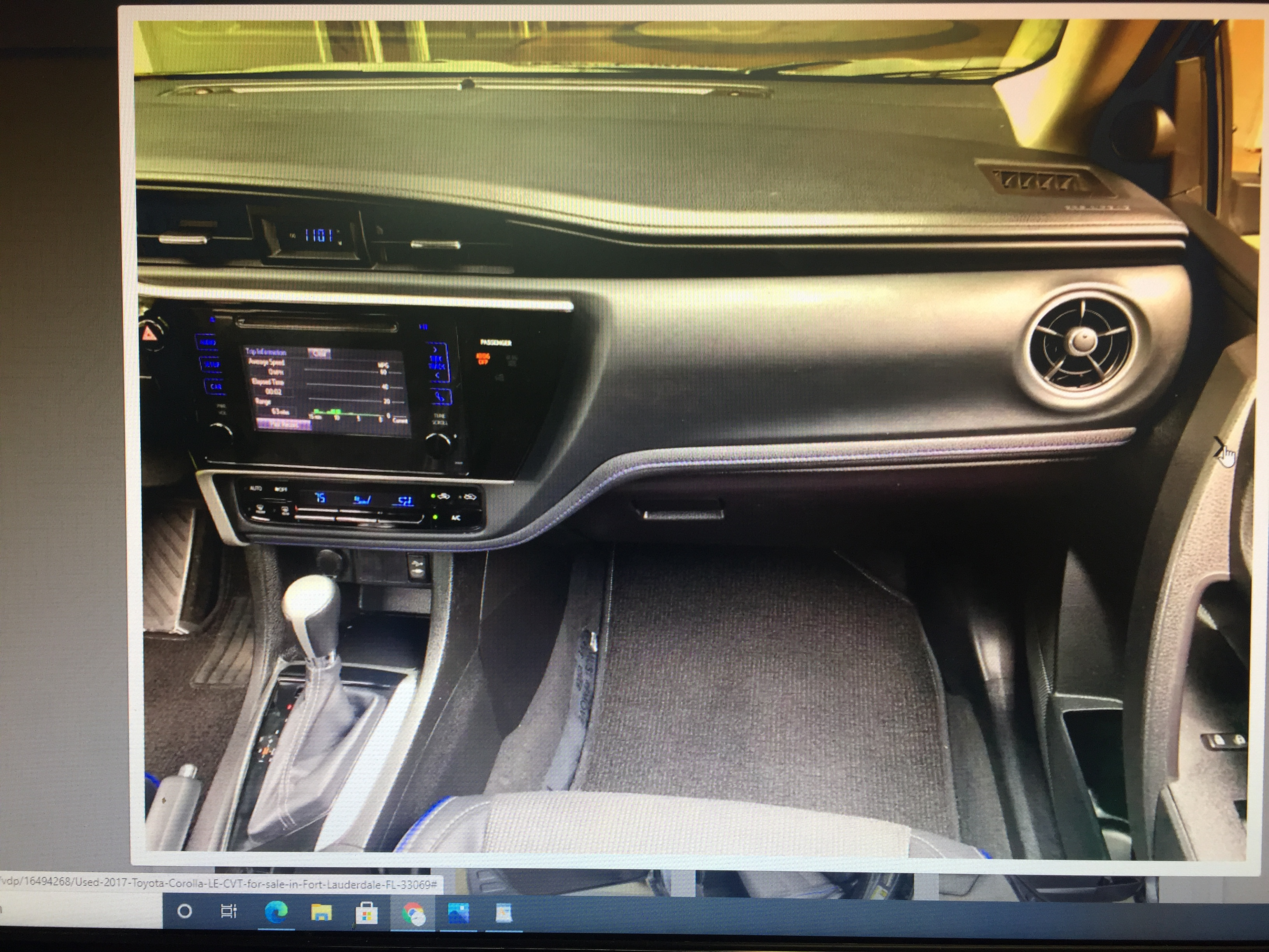 2017 Toyota Corolla LE CVT Retail $15,995 Internet cash Special $14,800