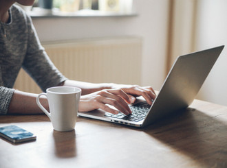 Using Microsoft teams to collaborate when working from home