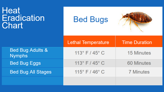 Heat Treatments - Bed Bugs & other pests