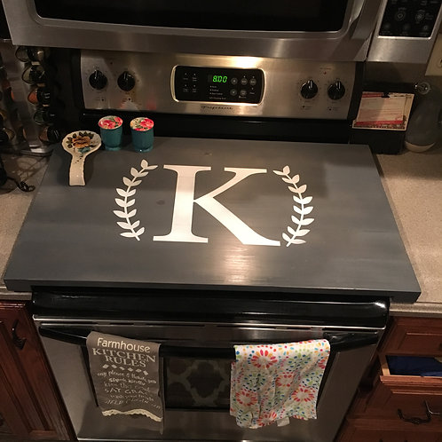Personalized Stove Top Cover