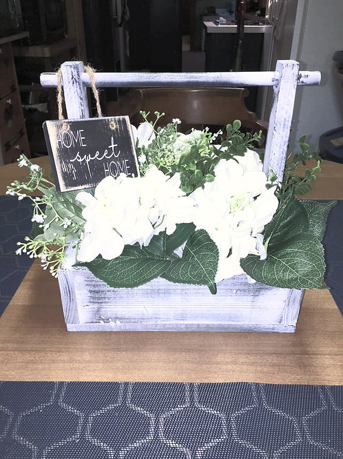 Rustic Decorative Box (With Small Sign)