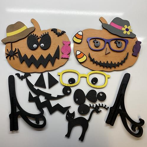 DIYKit - Mr. and Mrs. Pumpkin