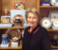 Karen de Koning, expert on fine china and crystal