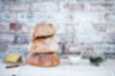 Fresh sourdough bread from wholesale bakery, Company Bakery, Edinburgh, Leith