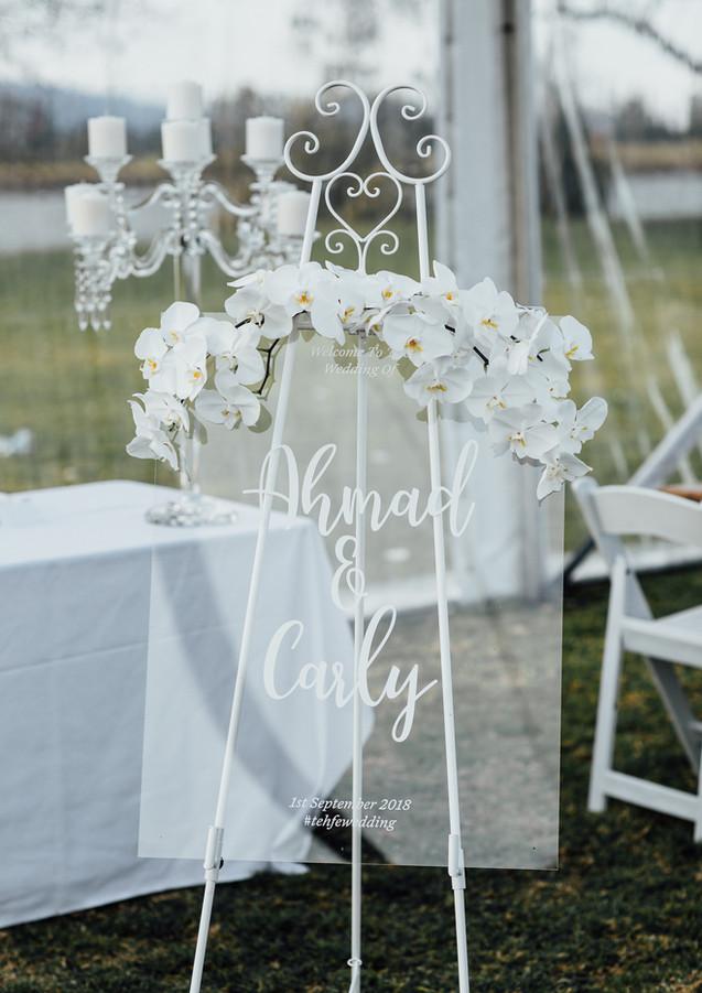 Wedding Signage Cronulla
