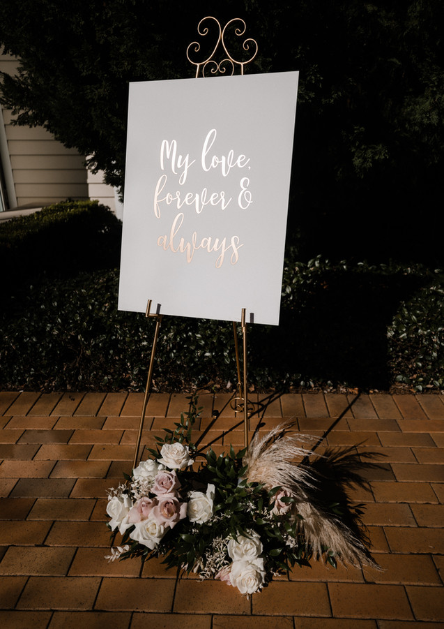 Wedding Sign Sydney