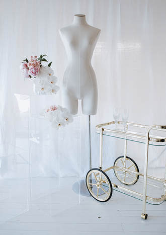 bridal suite styling