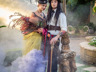 Steam Punk Bridal Shoot