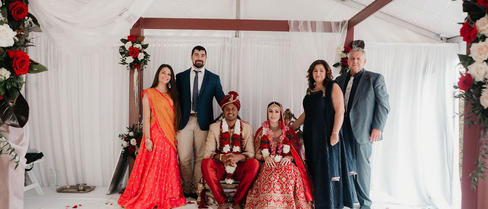 Indian Greek Wedding