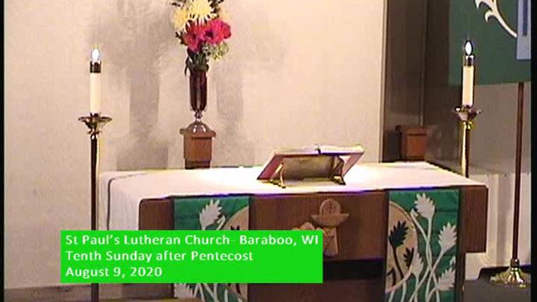 Ninth Sunday of Pentecost, St Paul's Baraboo