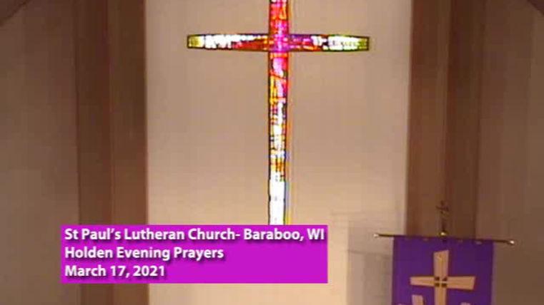 Fourth Sunday in Lent, St Paul's Baraboo