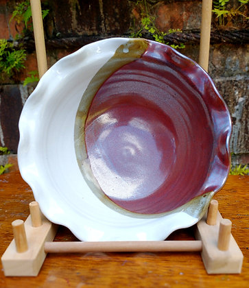 Bowl in Fay's Red