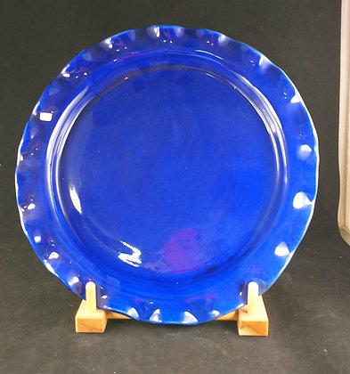 Cobalt Serving Piece