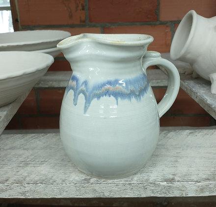 Pitcher in Antique White glaze