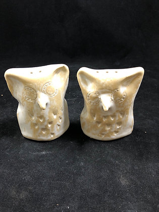 Owl Salt and Pepper Shakers by Susan