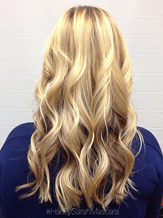 blonde beachy balayage
