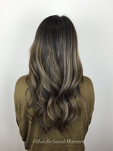 ash brown and blonde highlights