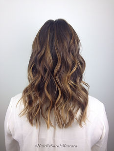 balayage beachy hair