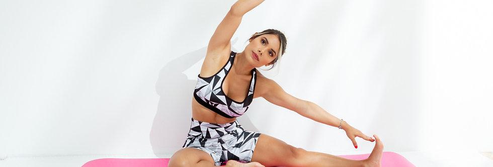 Colchoneta de Yoga Rosa