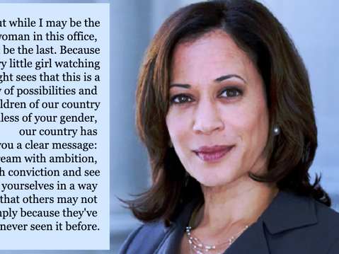 First Woman of Colour: Vice President-elect Kamala Harris