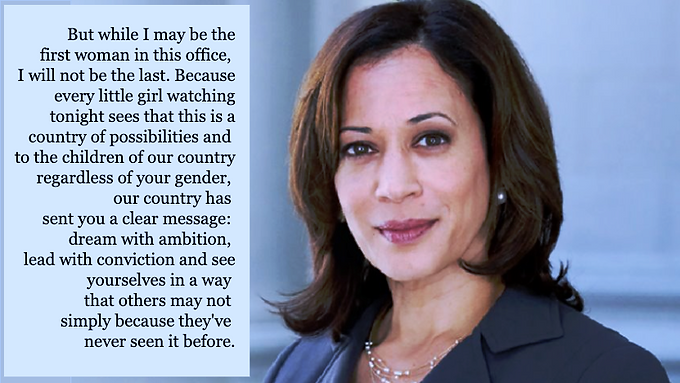 First Woman of Colour: Vice President-elect Kamala Harris