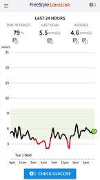 Glucose Metabolism: Freestyle Libre