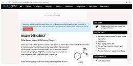 ABC's of Vitamin Deficiencies: B3 or Niacin Deficiency