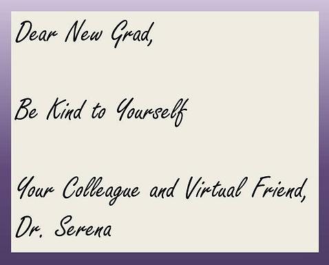 Dear New Grad