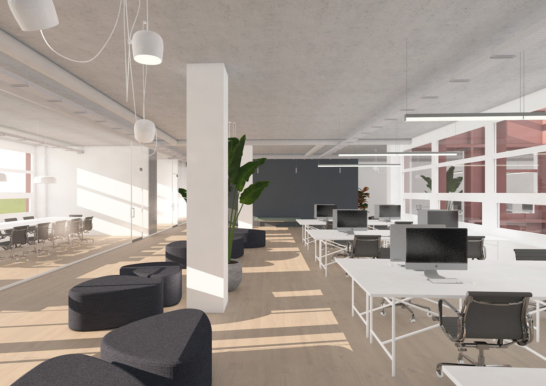 FIVE2NINE_Visualisierung Büro 2