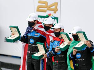 Albuquerque, Rossi, Castroneves, Taylor Win Rolex 24 at Daytona