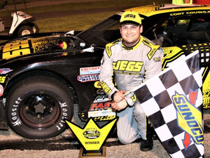 Coughlin Gets Third Win of the JEGS/CRA All-Stars Tour Season at Birch Run Speedway
