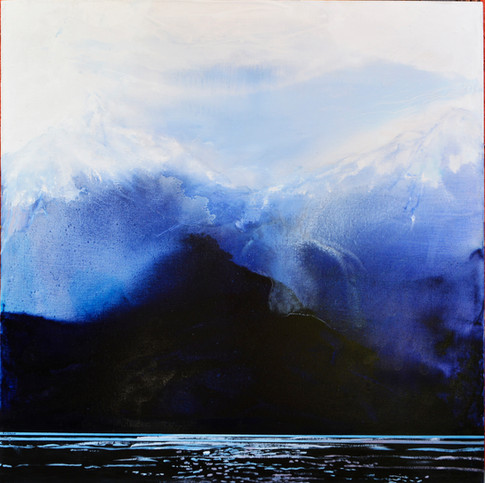 Azul Patagonia, 2020, oleo sobre tela, 1