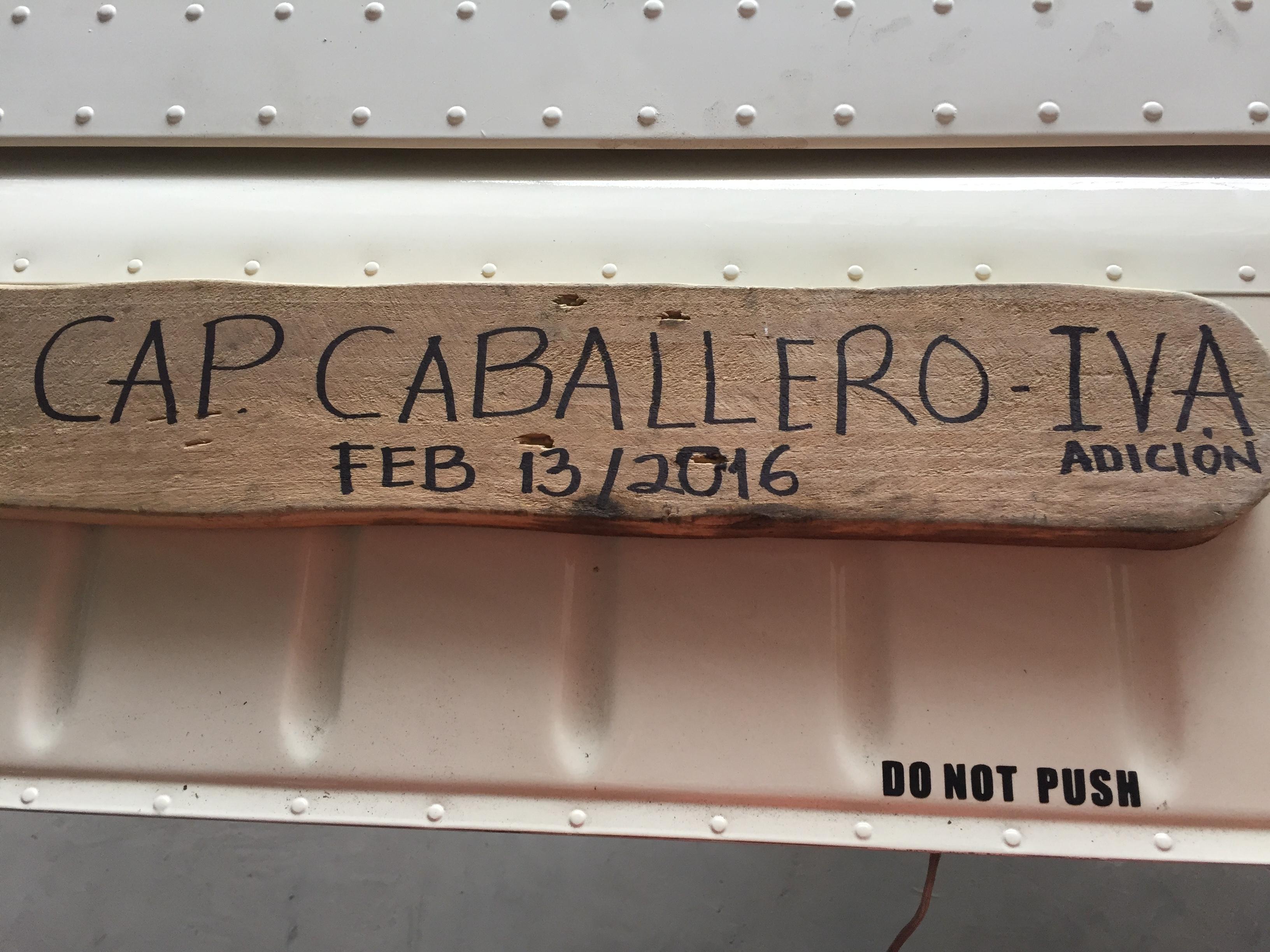 IVA CAP CABALLERO