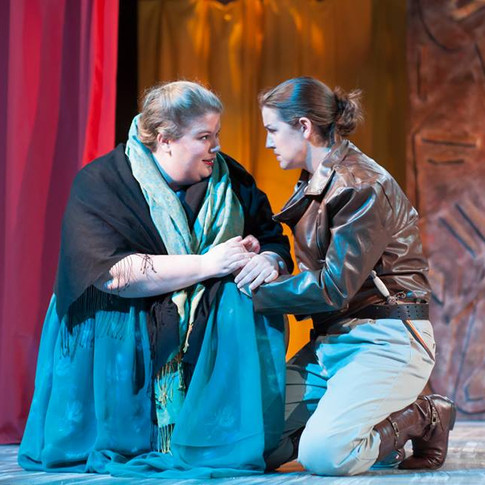 Giulio Cesare in Egitto, Pittsburgh Festival Opera, July 2016