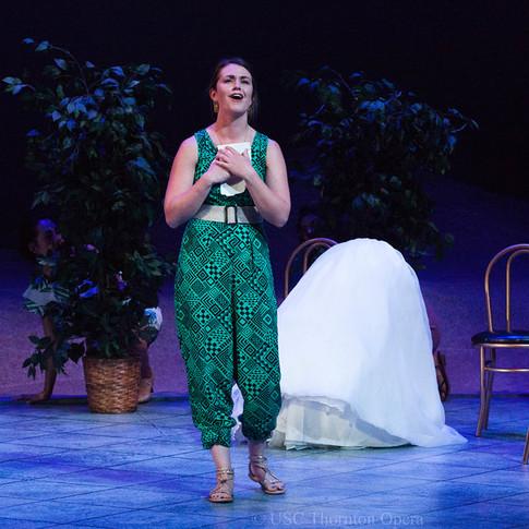 Béatrice et Bénédict, USC Thornton Opera, April 2017