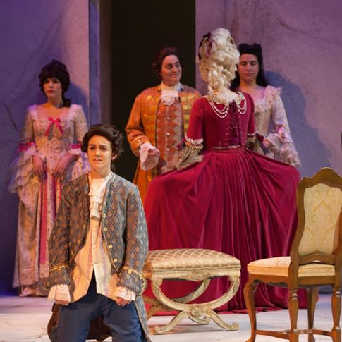 La clemenza di Tito (Mozart), USC Thornton Opera, November 2015
