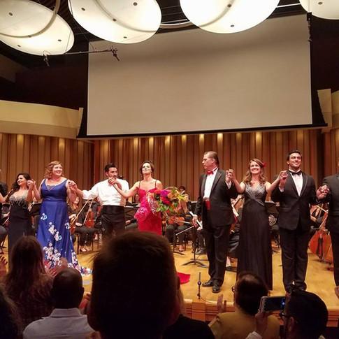 Carmen in Concert, August 2017, Los Angeles