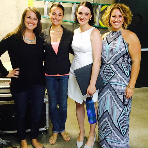 Vocalists after working with Isabel Leonard, Aspen Music Festival 2015